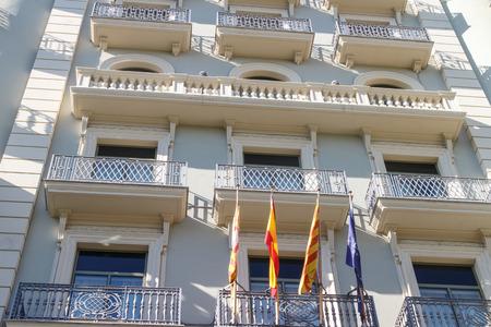modernist: modernist building from barcelona
