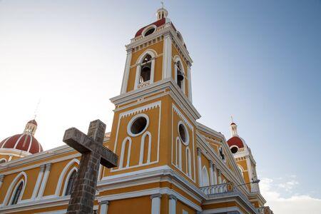 granada: Granada, Nicaragua, Cathedral outdoors view