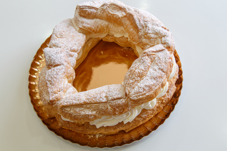 typical: typical catalan cake, tortell.