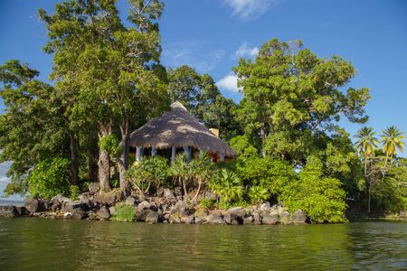 isletas de granada view, tourist natural place to visit from Nicaragua