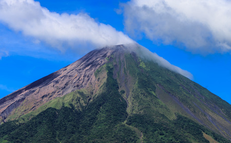 volcan: volcan concepcion, Ometepe, Nicaragua Stock Photo