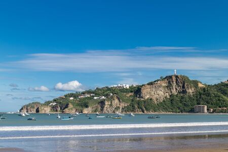 san juan del sur, Nicaragua. One of the most visited places at country