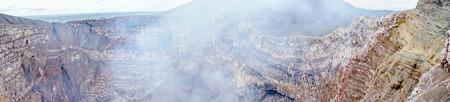 volcan: Volcan Masaya in Nicaragua during an eruption