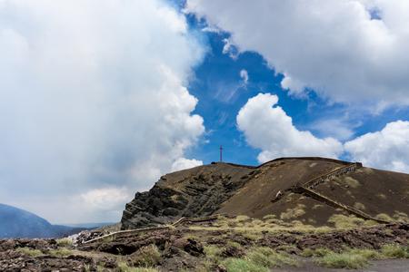 active volcano: Masaya - the most active volcano in Nicaragua.