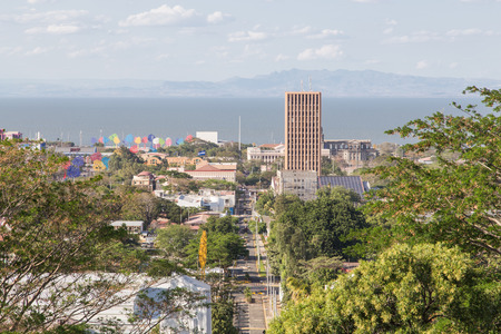 salvador allende: Managua view from Tiscapa, Nicaragua