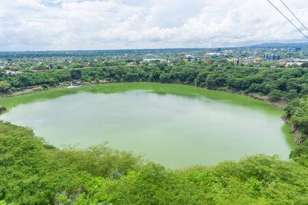 Laguna de Tiscapa, Managua, Nicaragua Stock Photo