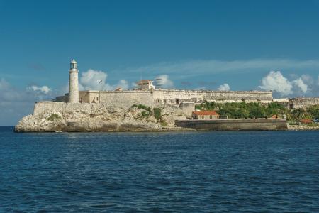 Castillo del Morro, Havana, Cuba Banco de Imagens