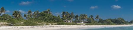 Tropical Beach view from Playa Giron, Cuba