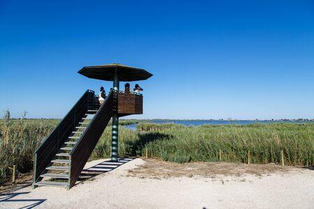 Bird Observatory  Delta de lEbre reservoir from Catalonia