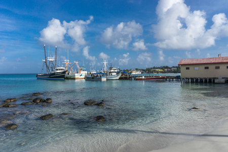 Corn Island, Nicaragua – August 18, 2016: Around the port in Corn Island, General travel imagery