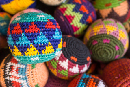 colorful Juggling Balls