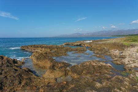 Trinidad, Cuba. Tropical beach view