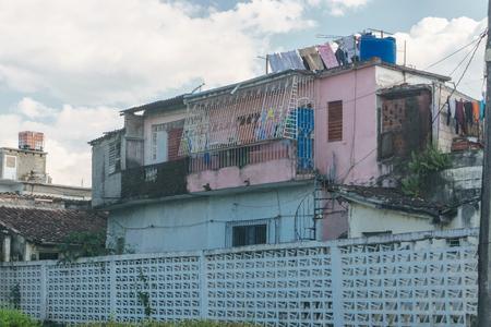 view of residential street in santa clara , cuba