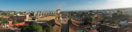 Panoramic view of Trinidad, Cuba from up