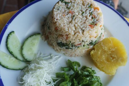 cuban rice with vegetables