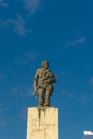 Santa Clara, Cuba, January 6, 2017: Che Guevara monument from outdoors in Santa Clara Editorial