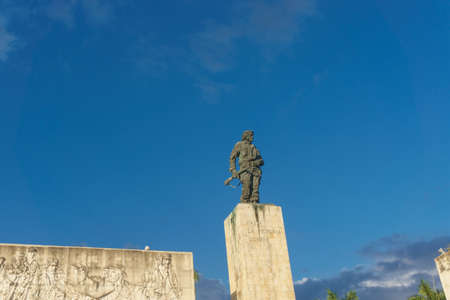 Santa Clara, Cuba, January 6, 2017: Che Guevara monument from outdoors in Santa Clara Editorial