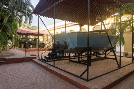 Trinidad, Cuba, January 3, 2017:  small revolution museum Éditoriale
