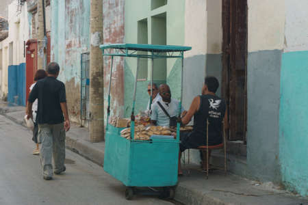 Santa Clara, Cuba, January 5, 2017: Street view on Santa Clara, Cuba. General travel imagery