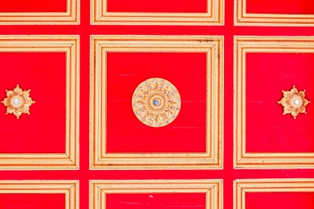 ceiling of temple at wat thai Stock Photo - 14369837