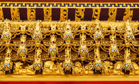 ceiling of chinese temple,thailand Stock Photo - 14369903