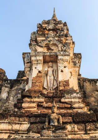 sukothai temple from thailand history photo