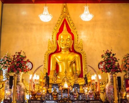 buddha asia of thai tample