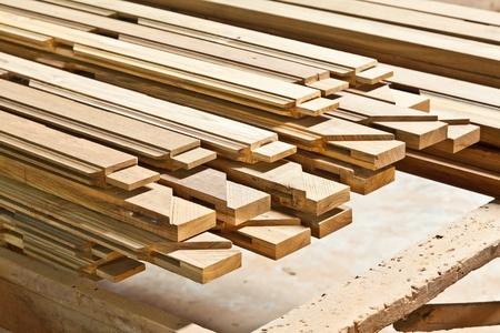sawmill: The stock of lumbers in a sawmill