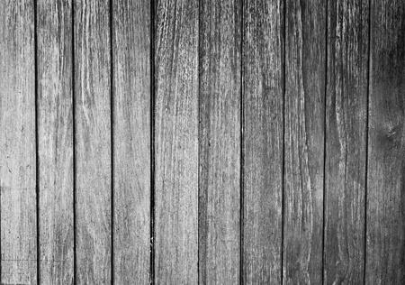 L'image de fond en noir et blanc de la cloison de bois