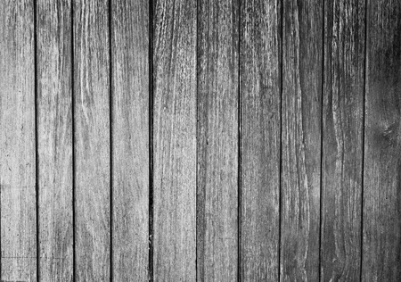 The black and white background image of the wooden partition Stock Photo