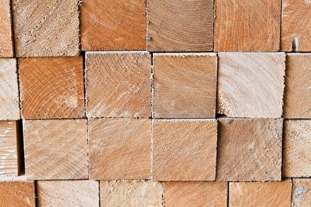 The background image of section of square logs