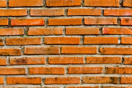The background image of the old brick wall Banque d'images