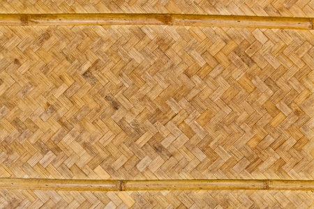 The background image of the pattern of the old woven bamboo wall photo