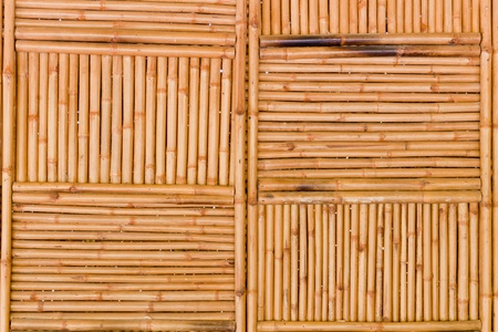 The background image of the natural bamboo wall photo