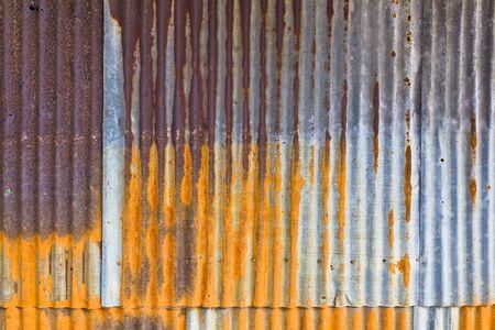 L'image de fond de la feuille de m�tal vieilli