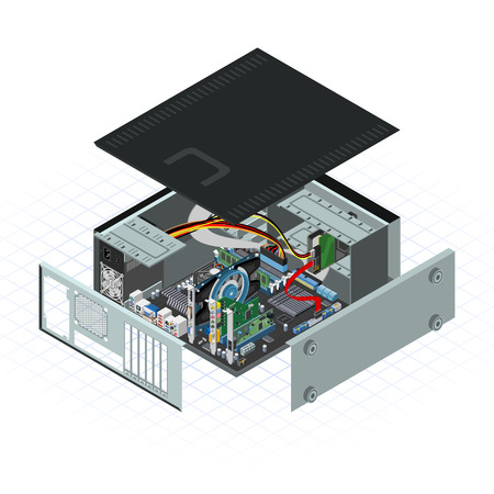 computer peripheral: This image is a personal computer with some of peripheral