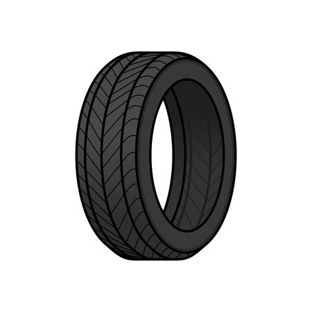 Tire cartoon design vector illustration