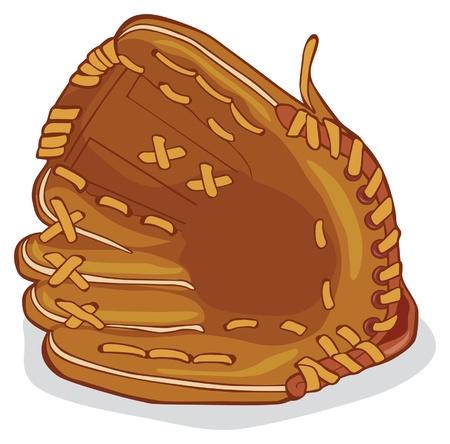 baseball gant de cuir