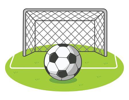 football ground Stock Vector - 18246338