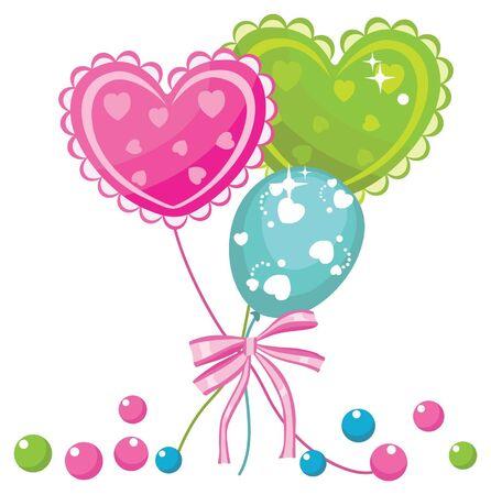 party balloons Stock Vector - 18246337