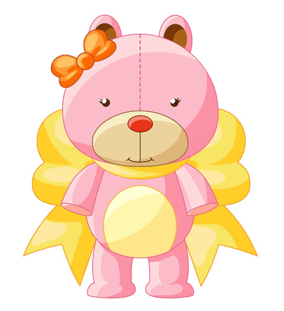 Cute illustration of Teddy Bear Illustration