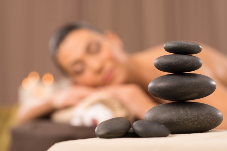set in stone: Stone Massage Set