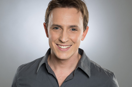 Closeup Of Happy Young Man