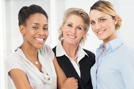 Portrait Of Happy Multi Ethnic Businesswoman Stock Photo - 27614026