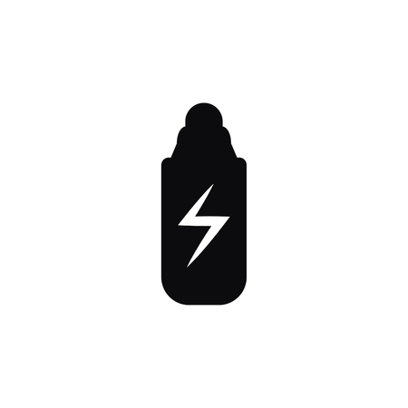 Energy Drink Bottle Black