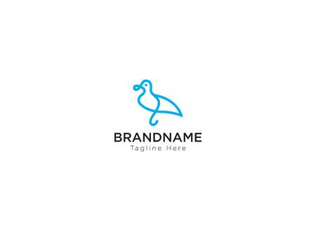 Duck Bird Logo