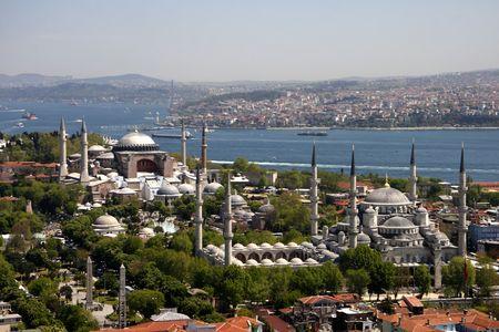 marmara: Blue Mosque and Hagia Sophia