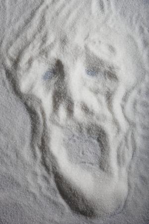 ghost face: Fantasma faccia Archivio Fotografico