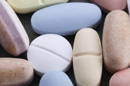 fight disease: pillsdrug Stock Photo