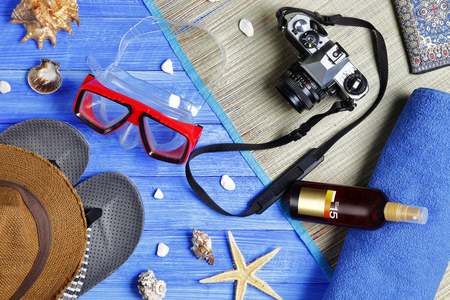 stock image: summer holiday- stock image